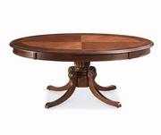 masa rotunda din lemn