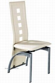 scaune albe living