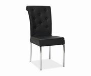 scaune living din piele