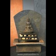 fantana arteziana zen cu buddha