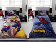 lenjerii de pat copii cu spiderman