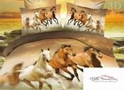 lenjerii de pat cu cai