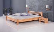 pat lemn 2 persoane