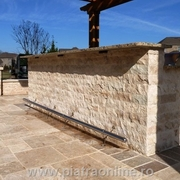 piatra decorativa pentru gard