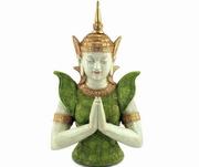 statuete cu simboluri budiste