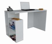 birou modern alb pentru laptop
