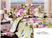 Lenjerii de pat 3d cu flori
