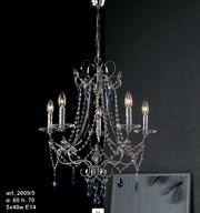 candelabre de cristal bohemia