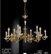 candelabre din cristal bohemia