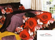 cuverturi de pat cu trandafiri