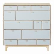 dulapuri cu sertare din lemn