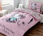 lenjerie de pat hello kitty 2 persoane