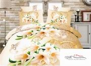 lenjerii de pat cu flori de iris