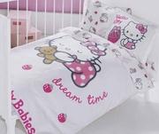 lenjerii de pat cu hello kitty pentru 2 persoane