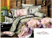 lenjerii de pat cu trandafiri 3d