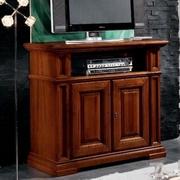 mobila lemn masiv pentru tv