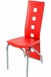 scaune de bucatarie rosii