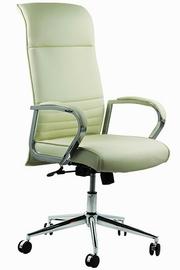 scaune directoriale piele albe