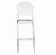 scaune inalte transparente
