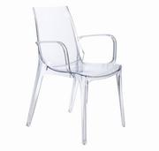 scaune plastic transparent