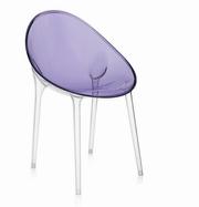 scaune plastic transparente