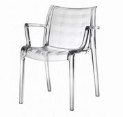 scaune transparente bucatarie