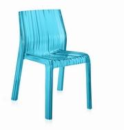 scaune transparente colorate