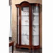 vitrine vintage din lemn
