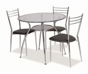 masa rotunda bucatarie cu scaune