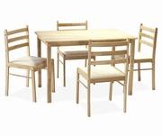 mese si scaune bucatarie din lemn