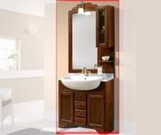 mobila pentru baie din lemn