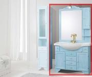 mobilier baie modern albastru