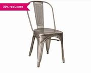 scaune de gradina din aluminiu