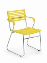 scaune de terasa din plastic