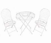 mese si scaune din fier forjat