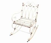 scaune vechi din fier forjat