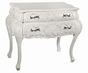 mobila dormitor alb antichizat