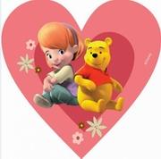 covoare copii in forma de inima