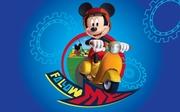 covor copii cu mickey mouse