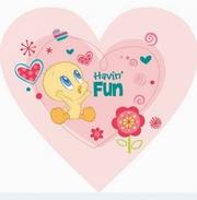 covor copii in forma de inima