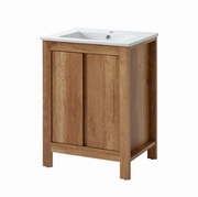 mobilier baie cu lavoar din lemn