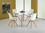 masa si scaune bucatarie albe