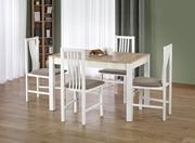 mese si scaune de bucatarie din lemn