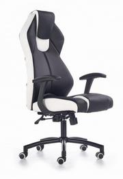 scaun gaming albastru